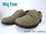 Zapato Big Toe para pie diabético de Caballero Modelo 201