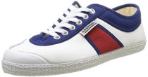 Kawasaki-Hot-Shot-Zapatillas-de-deporte-de-canvas-para-hombre-Blanco-Blanc-WhiteNavyRed-42-0