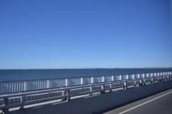 El puente en la mañana.