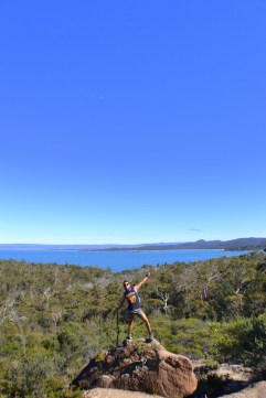 La vista a Coles Bay