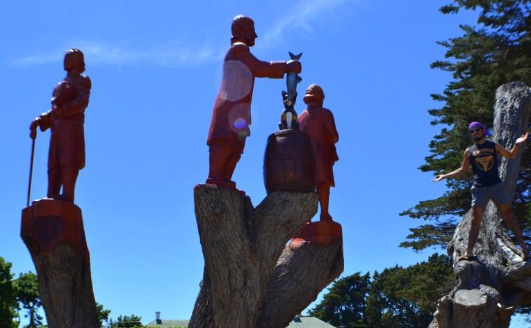 George Town - Monumento a la pezca.
