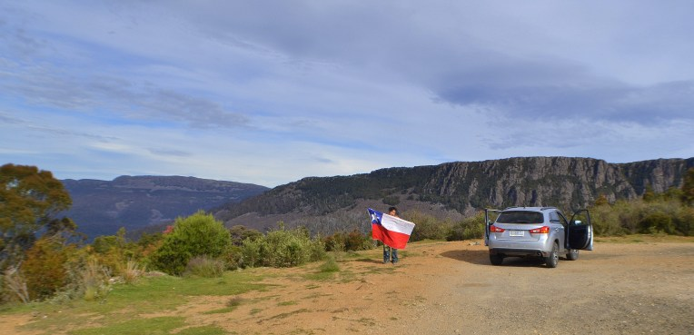 Golden Valley - Hermoso paisaje donde se hizo presente la banderita!
