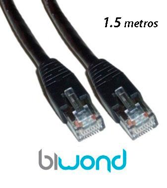 Cable Ethernet 1.5m Cat 6 BIWOND