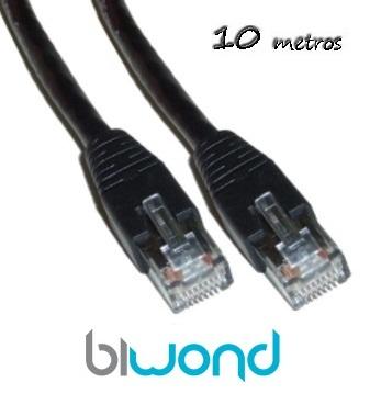 Cable Ethernet 10m Cat 5 BIWOND
