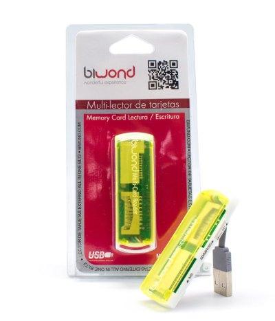Lector Multitarjetas USB BIWOND
