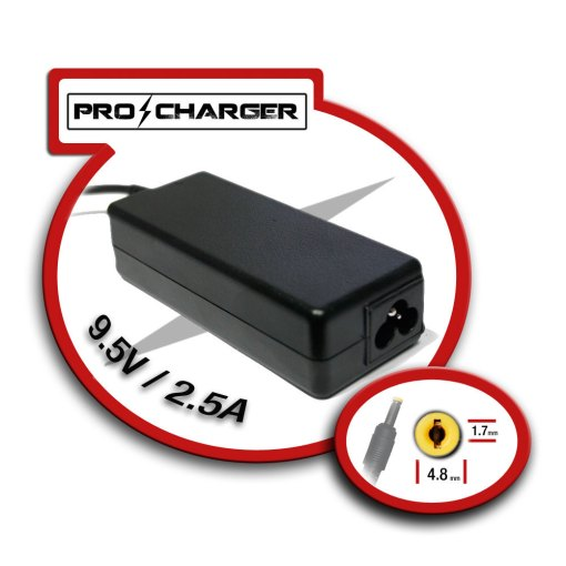 Carg. 9.5V/2.5A 4.8mm x 1.7mm 36w Pro Charger