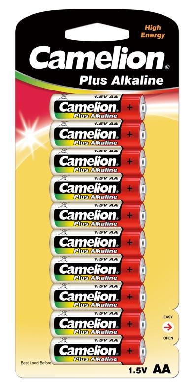 Plus Alcalina AA 1.5V (10 pcs) Camelion
