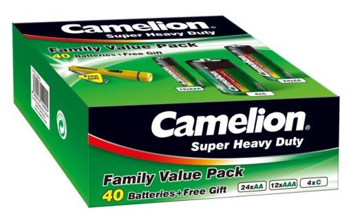 "Salina Verde ""Set Domestico""  (x40 pcs) Camelion"