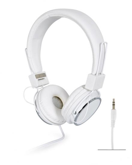 Auriculares estéreo Hi-Fi 595B Blanco Fonestar