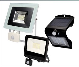 Iluminación con Sensor