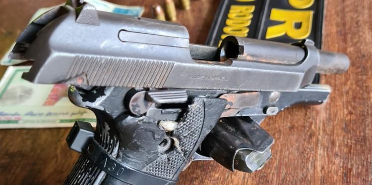 Foragido de justiça é preso portando ilegalmente arma de fogo, no nordeste do Pará