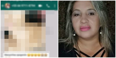 Candidata a vereadora troca foto pelada por voto
