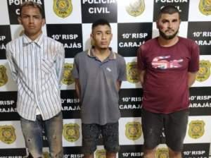 Trio rouba celulares, mas colide com muro ao tentar fugir da PM