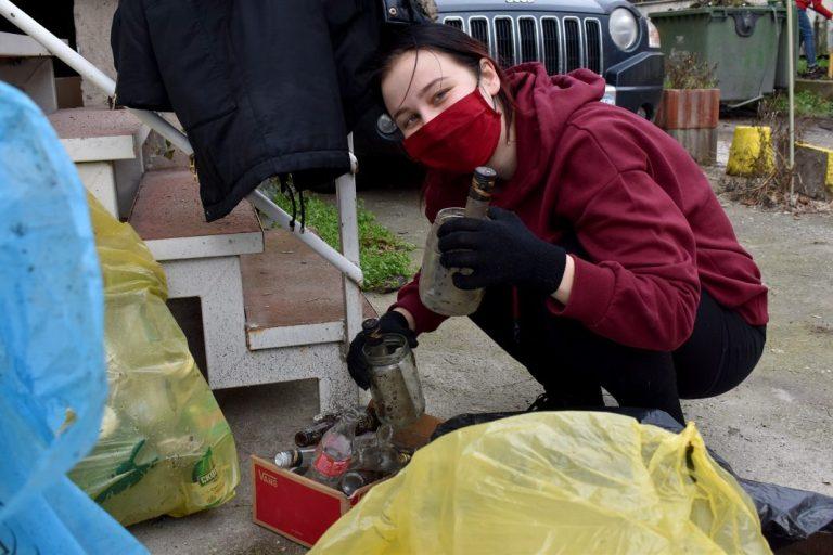 Read more about the article Мета: Селина Ниеми, волонтерка од Финска: Сакам да останам тука за да придонесам за почиста животна средина