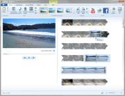 Windows Live Movie Maker is a free basic video-editing application for Windows 7 and Vista.