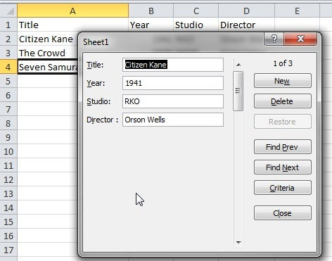 Data Entry Excel Template  data analysis in an easy to use