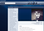 Internet Radio Pandora's new interface