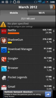 Using My Data Manager app can help you conserve data.