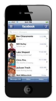 Facebook messaging will make it a powerful cross-platform unified communications tool.