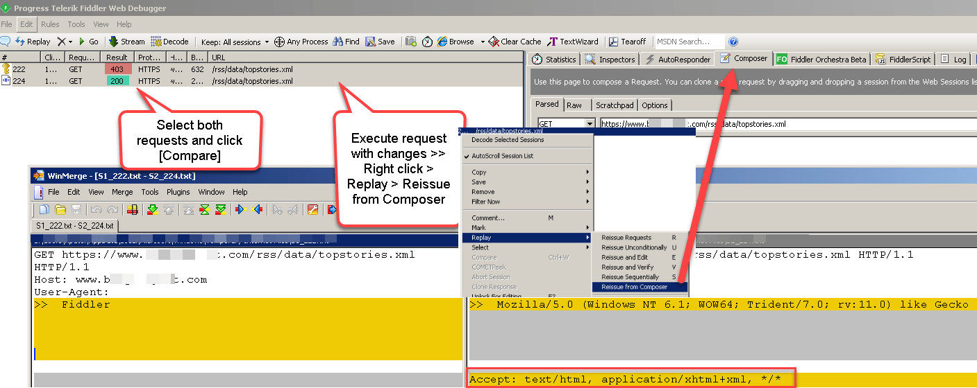 How to use Fiddler to analyze HTTP Web Requests | ZappySys Blog