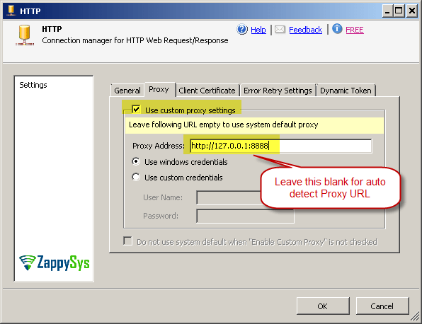 How to use Fiddler to analyze HTTP Web Requests – ZappySys Help Center