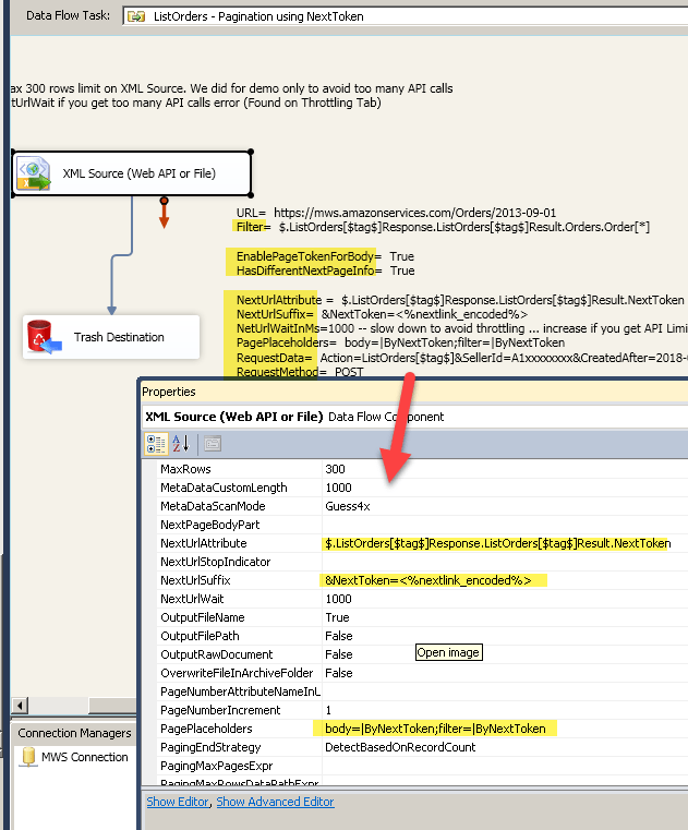 How to call Amazon MWS API using SSIS | ZappySys Blog