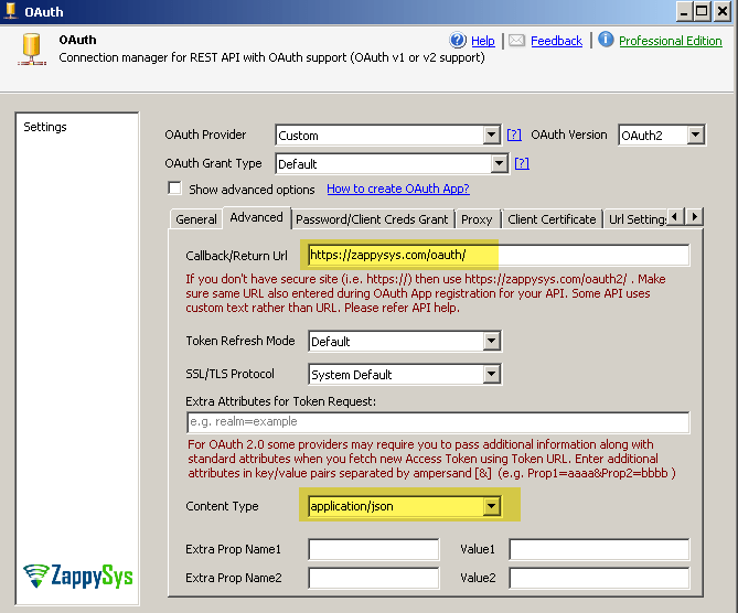 How to configure Zendesk OAuth Application and Connection for REST