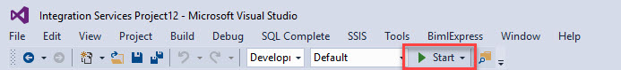 ssis start package
