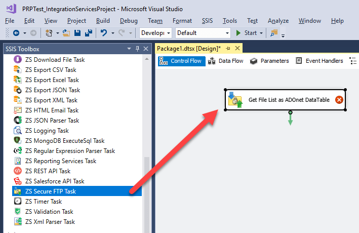 Download latest File from FTP using SSIS (SFTP / FTPS
