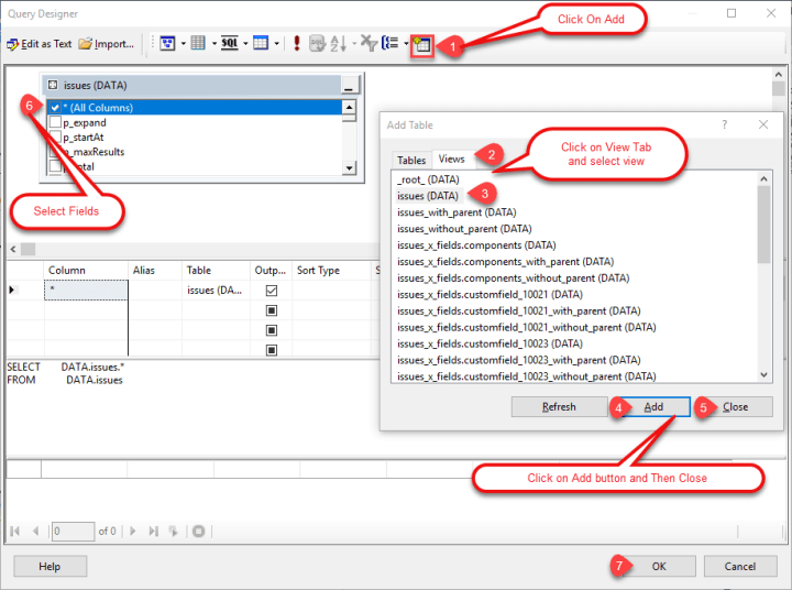 ssrs-add-table