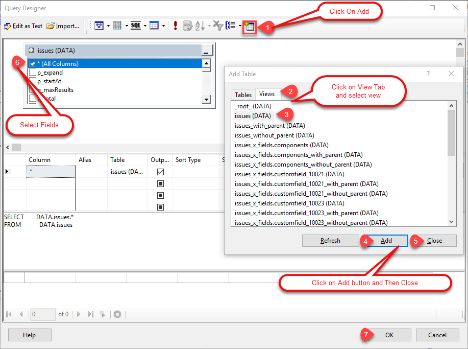 Read JIRA data in SSRS Reports (SQL Server Reporting