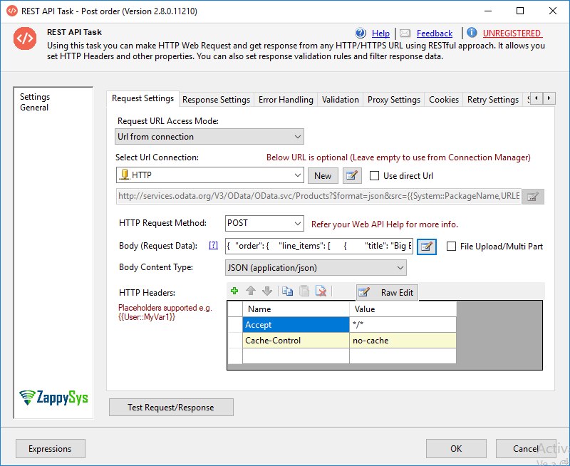 Read / Write Shopify data in SSIS (REST API) | ZappySys Blog