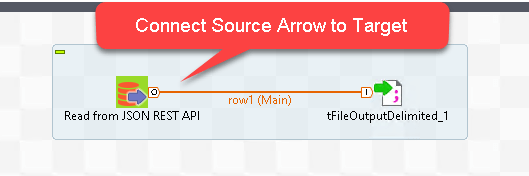 Talend - Connect REST / JSON Source to File Target