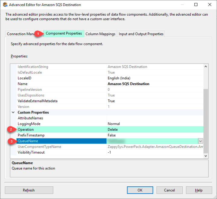 Select Delete Operation and Queue