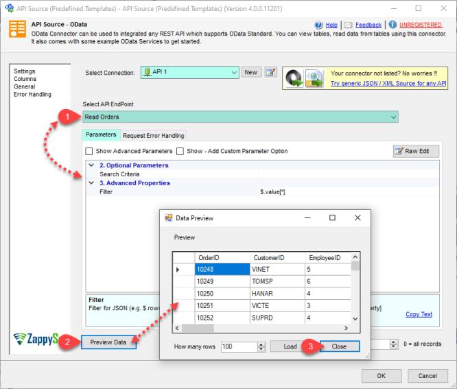 Configure PostgreSQL destination Mapping settings