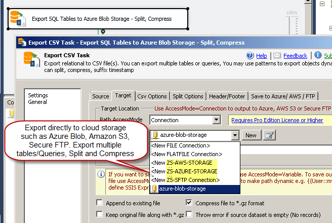 5 Ways to Export JSON from SQL Server using SSIS | ZappySys Blog