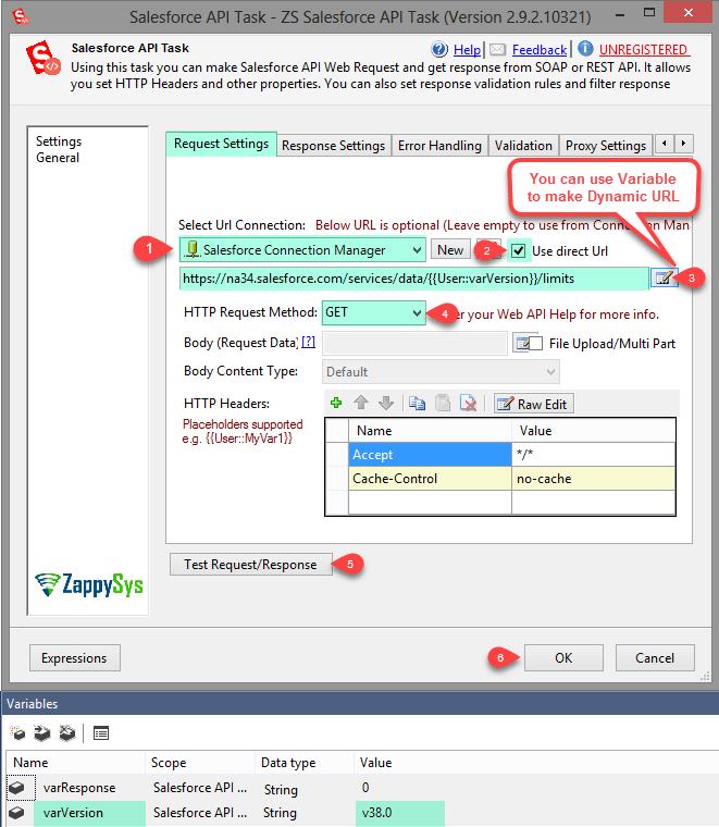 SSIS Salesforce API Task (Call REST/SOAP API) | ZappySys