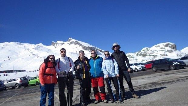 Cristina, Diego, Miguel, Mario, Mamen y Sergio