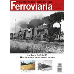 Revista de Historia Ferroviaria Nº22, 2º Semestre 2018. Editorial Maquetren.