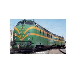 Locomotora Diesel 4026, Matricula 340-026-4, UIC, Epoca IV, Escala H0, D.Sonido. Marca Mabar, Ref: 81581S.