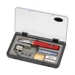 Kit Soldador Gas Aries ES-640SI con accesorios. Marca Dismoer. Ref: 22433.