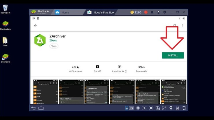 ZArchiver PC setup