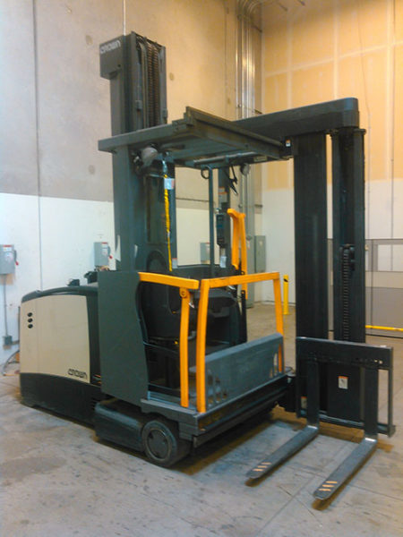 Crown Tsp 6000 Man Up Turret Forklift Rebuilt Encore