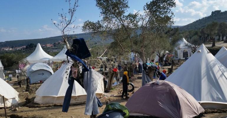 Moria Camp Lesvos