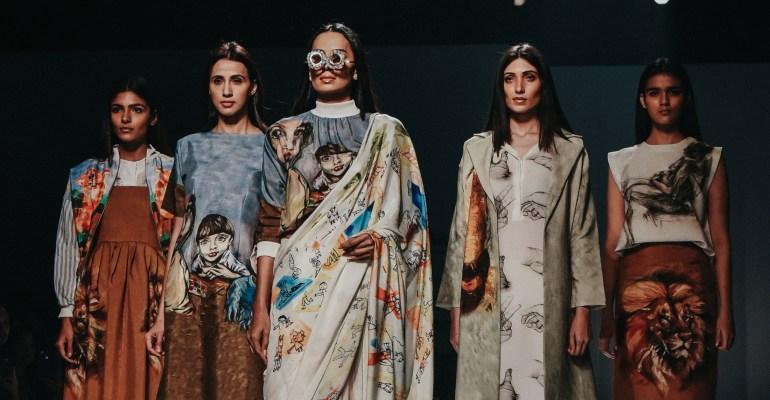 Aartivijay Gupta FDCI Amazon India Fashion Week Spring Summer 2018 Finale