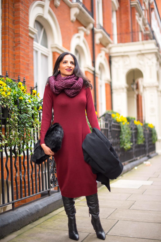 London Winter Style Tips: Sweater Dresses; Isha's Verdict