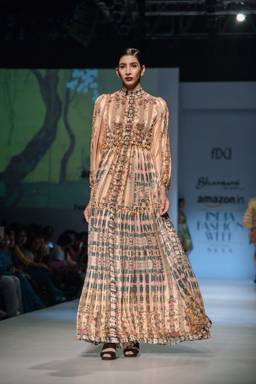 Bhanuni by Jyoti FDCI Amazon India Fashion Week Spring Summer 2018 Look 6