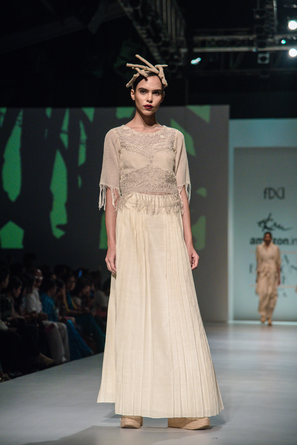 Ekru by Ektaa FDCI Amazon India Fashion Week Spring Summer 2018 Look 3