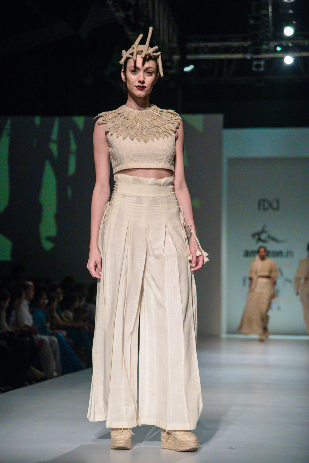 Ekru by Ektaa FDCI Amazon India Fashion Week Spring Summer 2018 Look 7