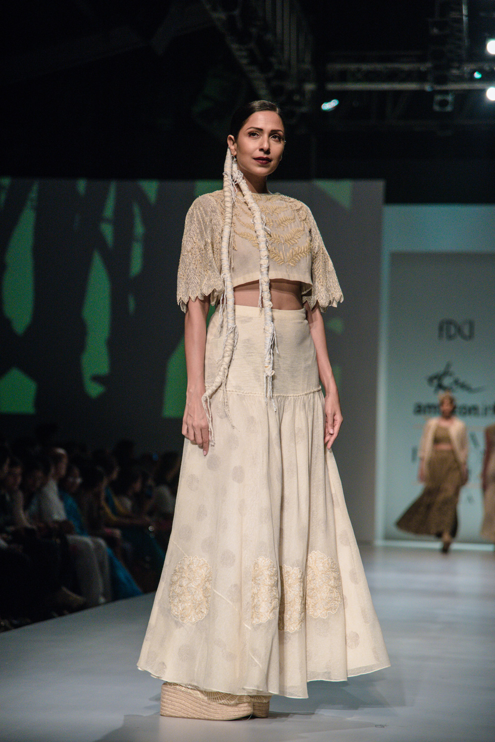 Ekru by Ektaa FDCI Amazon India Fashion Week Spring Summer 2018 Look 8